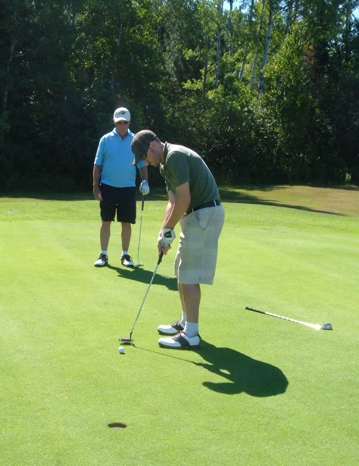 Confidence While Putting!