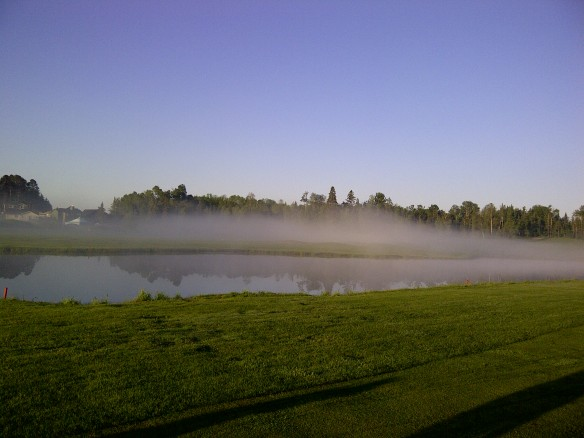 Osprey Links Golf Course at 6 am