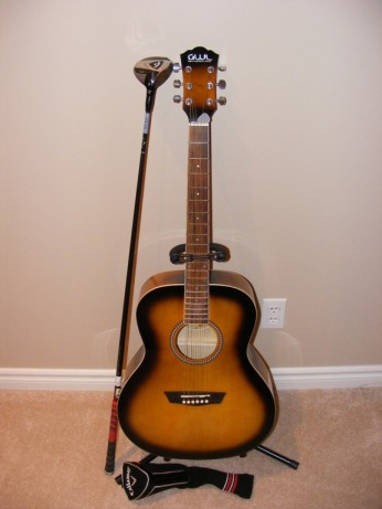learning to play a guitar the grateful golfer. Black Bedroom Furniture Sets. Home Design Ideas