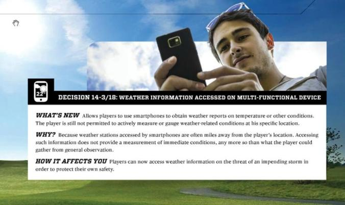 2014 Rule Decisions Weather Information