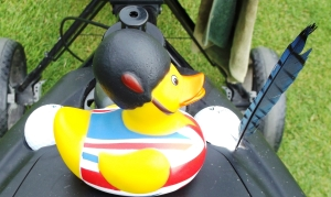 Last Appearance of the Duck! Going Back the UK this weekend!