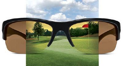 sunglasses and golf