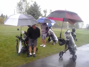 The First Tee - Playing in the Rain!