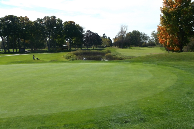 5th Hole - Bay of Quinte