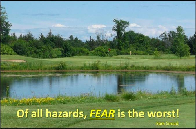 Sam Snead Fear