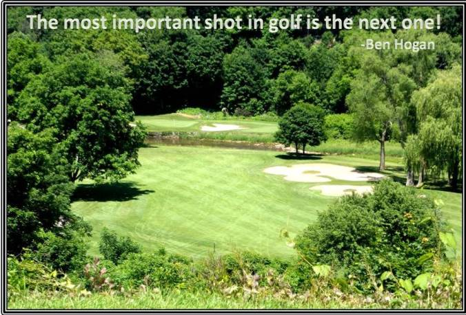Important Golf Shot Ben Hogan