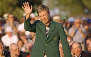 Former Champion Ben Crenshaw playing in his last Masters!