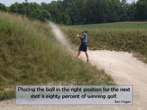 Winning Golf Sandtrap