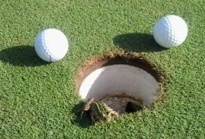 Frog 2 golf balls
