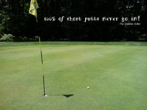 Putting is a tough skill to master in golf!