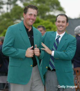 Mike Weir Phil Mickelson