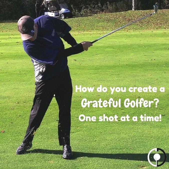 create a grateful golfer