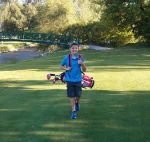 Mac Junior Golfing