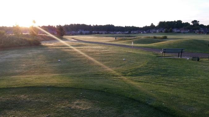 Sun shine 5th hole